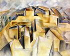 Houses On The Hill- Picasso - CANVAS OR PRINT WALL ART