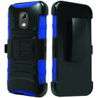 3-Layer Belt Clip Holster Stand Cover Case For HTC Verizon Desire 526 526G+ L100