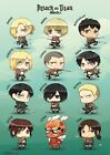 Official Attack on Titan Chibi Characters Maxi Poster 91.5 x 61cm Anime Eren
