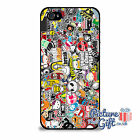 Cool Sticker Logo Bomb Phone case cover For Apple Sony Samsung HTC BB