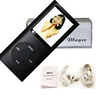 16GB Slim 1.8 LCD Mp3 Mp4 Player With Earphone FM Radio Video Movie Games