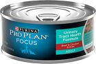 Purina Pro Plan Focus Cat Food Adult Urinary Tract Health Fo