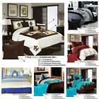 *SECONDS* 7 Piece Comforter + 2 Std Pcases + 2 Eurocases + 2 Cushions QUEEN KING
