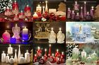 BEAUTIFUL CHRISTMAS CANDLE SETS DECORATED PAINTED VARIOUS SHAPES AND DESIGNS