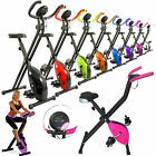Magnetic Exercise X Bike Folding Fitness Cardio Workout Weight Fat Loss Machine