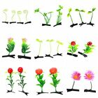 15pcs Wholesale Grass Leaf Plant Sprout Flower Headwear Hairpins Hair Clips