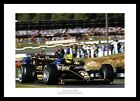Ayrton Senna 1985 Formula One Brands Hatch Photo Memorabilia (819)