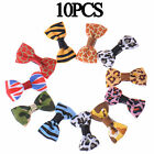 10 /20 /50 /100pcs Puppy Pet Grooming Ribbon Cat Dog Bows Bow Hair Clip Accessories