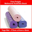 Yoga Exercise Thick 6mm Gym Mat Non Slip PVC Multi Color  173x61x0.6CM