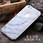 Wood Pattern Cover + Aluminum Metal Frame Case For Apple iPhone & Samsung Phones