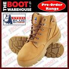 Steel Blue 'PARKES'  312158. Steel Toe Cap Safety Work Boots. ZIP! Lightweight!