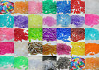 100 - 19mm x 6mm Translucent Spaghetti Bead Made in USA - Color Choice