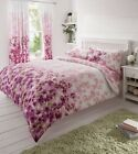 8 PC Duvet Cover Set With Matching Curtains & Fitted Sheet - KING , LAST ONE !