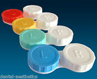 Contact Lens Cases ~ Colour Coded L&R, Soaking Lenses Storage Cases, Set of 4