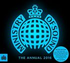 MINISTRY of SOUND 'THE ANNUAL 2016' 3 CD SET (2015)