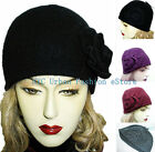 New Women 100% Wool D&Y Brand Soft Cloche Winter Stylish/High Quality Hat/Cap