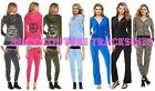 NWT Juicy Couture Velour Tracksuit Women Embellished Jacket Pants Xs S M L XL