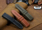 26mm Extra Large Vintage Genuine Leather Watch Band Strap for PAM Radiomir 1950