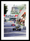 Ayrton Senna 1986 Spanish Grand Prix Formula One Photo Memorabilia (3SP)