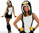 Adult Sexy PENGUIN Costume Ladies Christmas Fancy Dress Animal Bird Outfit