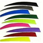 "12 PCS AMG 5"" SHIELD CUT Right Wing Feathers Archery Arrow Fletching PICK COLOR"