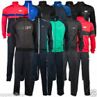 Nike Mens Tracksuit Full Zip Top & Bottoms Jogging 100% Polyester - All Sizes