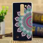 Retro Painted Pattern Hard Back Case Cover For LG G4 stylus beat pro G3 S stylus