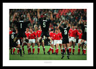 Wales Rugby Team Face the Haka 1995 World Cup Photo Memorabilia (251)
