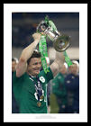 Brian O'Driscoll Final Game Ireland 2014 Six Nations Photo Memorabilia (260)