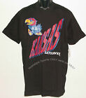 Vintage 1990s University of Kansas JAYHAWKS T-Shirt Black NWT NOS New Old Stock