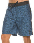 New Hurley Men's Snapper Boardshort Polyester Men's Exclusive Blue