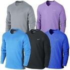 Nike 2014 Dri-Fit Wool Tech Pullover Natural Touch Jumper Mens Golf Sweater