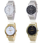Christmas Gift Womens Lady Bracelet Stainless Steel Band Dial Quartz Wrist Watch