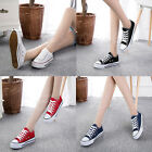 Fashion Women Lady Low Top Casual Poltester Shoes  Sneakers Student Sports Shoes