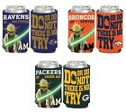 NFL Assorted Teams Wincraft Star Wars Yoda 12 oz. Neoprene Can Cooler NEW! $9.99 USD on eBay