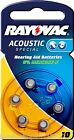 Varta Rayovac Acoustic Special Mercury Hearing Aid Batteries - Multiple Quantity