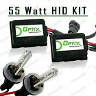 55W HID Fog Lights Xenon Light Slim Kit Plug Play Bulb Size 880 881 893 899 (A)
