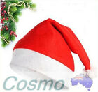 4PCS 6PCS Adult Kid Xmas Hat Red Cotten Cap Santa Novelty Christmas Party