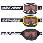 2016 Ski-Doo BRP Trail Goggles By Scott UV Protected Black White Yellow OSFM