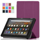 4 Color Exact SLENDER Leather Magnetic Trifold Stand Case For Kindle Fire 7