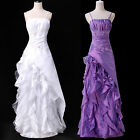 New Womens Beaded Quinceanera Dress Ball Gown Formal Prom Party Wedding Dresses