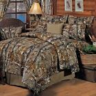 Realtree All Purpose Sheet Set Camouflage Bedroom Soft Relax Polycotton Bedding