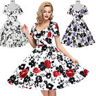 Vintage DRESSES Swing 50s 60s Pinup Housewife Cocktail Party Dress