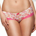 Ladies Boy Shorts Briefs Knickers Gossard Glossies Floral Frenzy Pink Lingerie