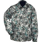 Casual Outfitters Water-Resistant Skull Mens Camo Jacket