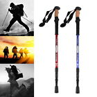 Anti Shock Telescopic Hiking Trekking Pole Adjustable Walking Stick Alpenstock W