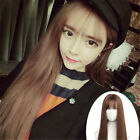 New Fashion Womens Lolita Cosplay Party Straight Long Light Brown Wigs