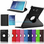 "360 Rotating Smart Leather Case Cover For Samsung Galaxy Tab E 9.6"" SM-T560"