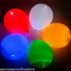 Mixed Colour Pack of 5 or 10 Quality Flashing Mini LED balloon light balloons