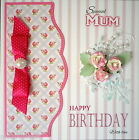 Personalised birthday card. Roses, ANY RECIPIENT / Friend, Mum, Grandma, etc
